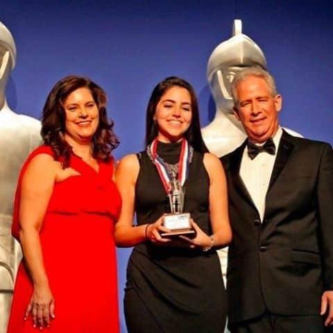 Code/Art Miami student founder wins Silver Knight Award