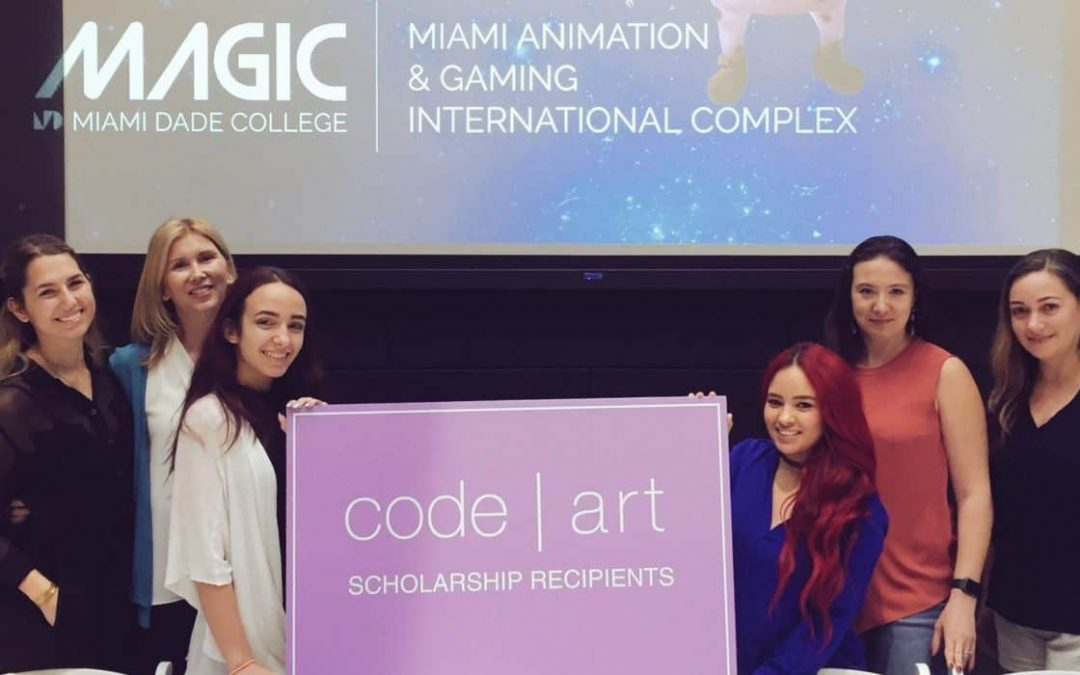 Code/Art awards two scholarships