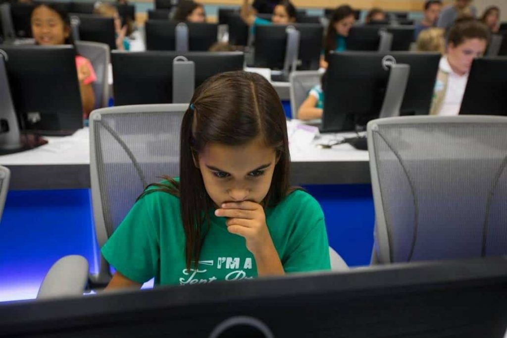Girl Scouts coding