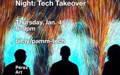 Code/Art Miami to present at PAMM Tech Takeover Tomorrow Night!