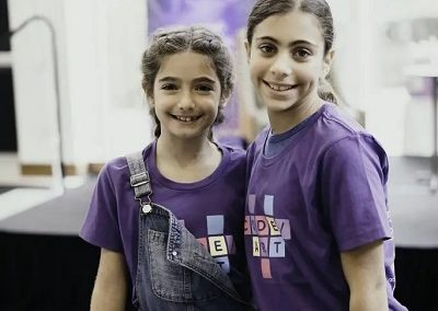 girls at coding conference