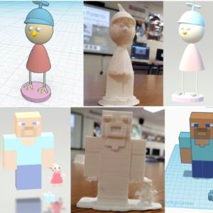 collage of 3d model photos