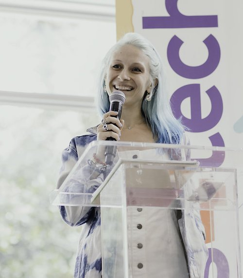 Natasha Tomchin speaking