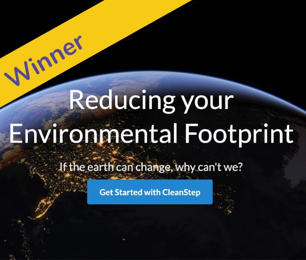 reducing environmental footprint flyer