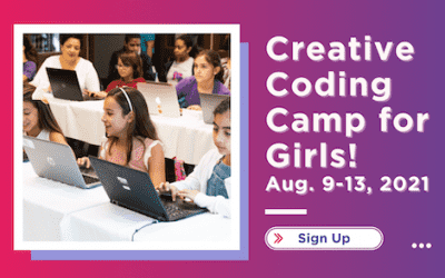 Creative Coding Camp for Girls! August 9-13