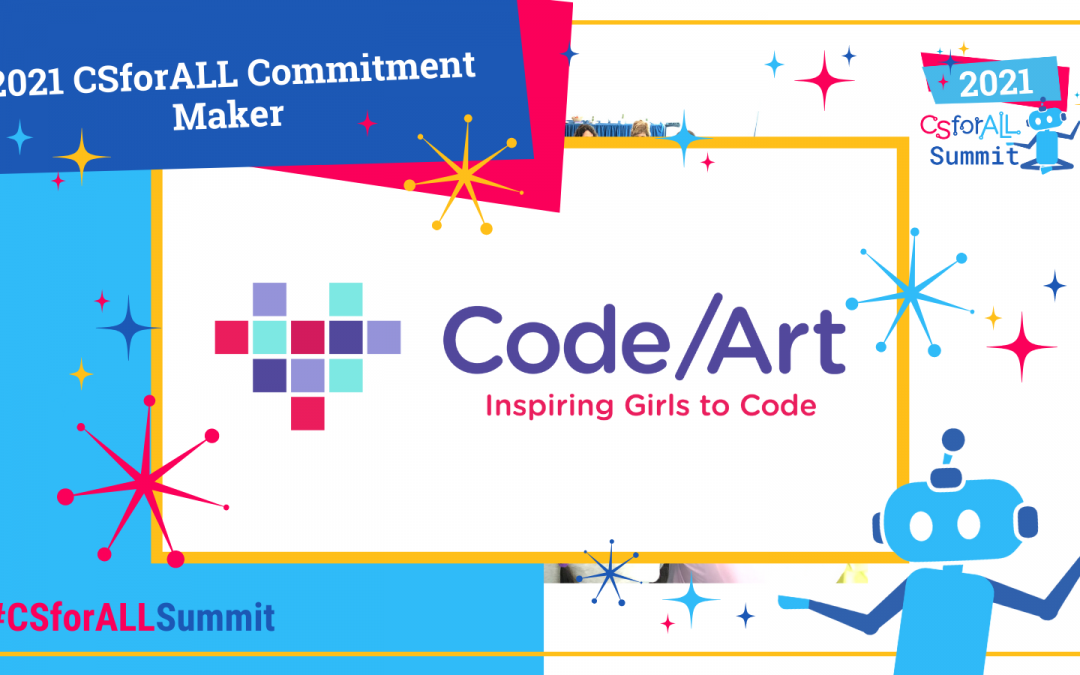 Code/Art Joins the National CSforALL Commitments Movement